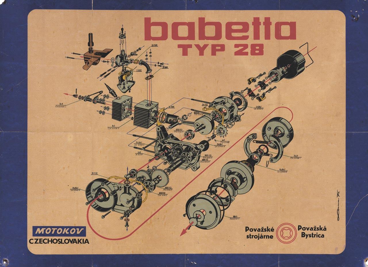Babetta 28 műhelyplakát